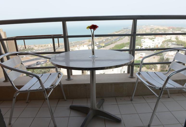 Plaza Athenee Hotel, Kuwait City, Jednolůžkový pokoj, Výhled z pokoje