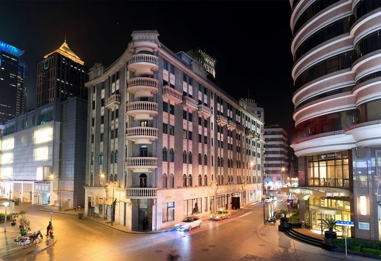 Cachet Boutique Shanghai, Shanghai, Hotel Front – Evening/Night