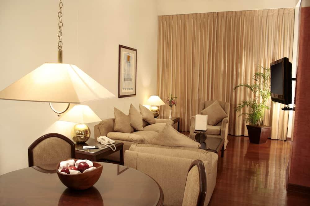 Номер-люкс із покращеним обслуговуванням - Вітальня
