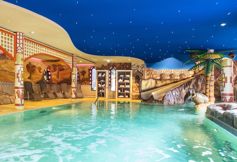 Heide Park Abenteuerhotel, סולטאו, בריכה מקורה