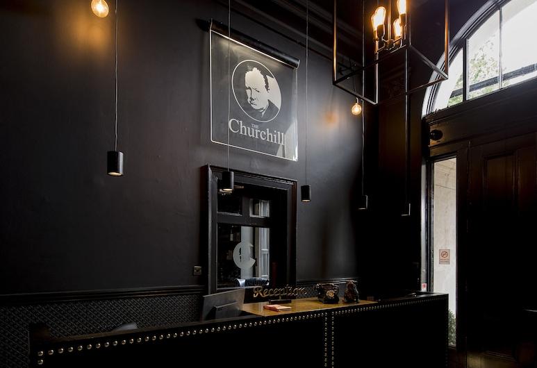 The Churchill Hotel, Γιόρκ, Εσωτερική είσοδος
