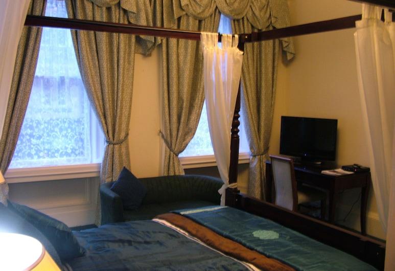 Valentine City Centre Guest House, Edinburgh, Luxury Tek Büyük Yataklı Oda, Oda