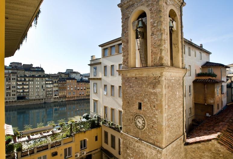Hotel Alessandra, פירנצה, חדר סופריור זוגי, נוף לנהר, נוף מחדר האורחים