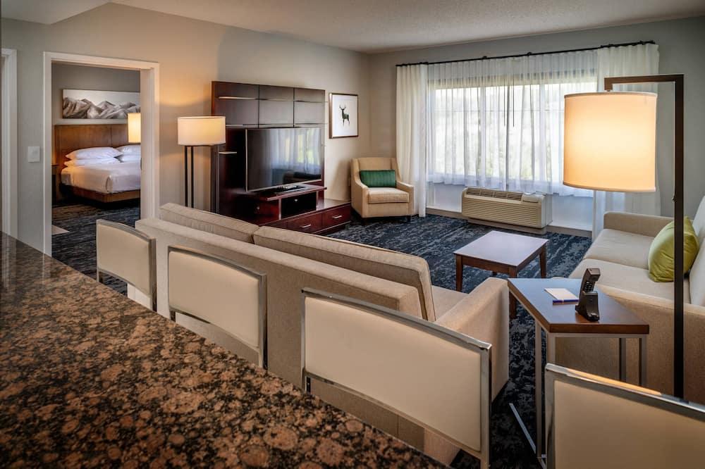 Suite presidencial, 1 habitación, no fumadores - Sala de estar