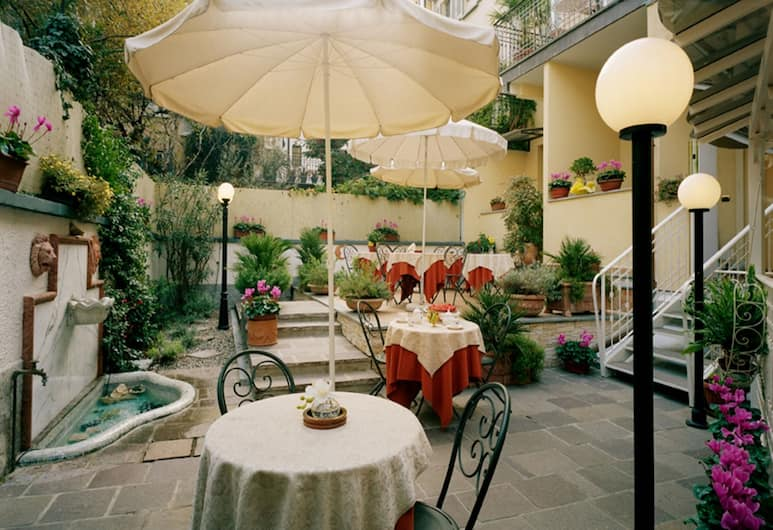 Hotel Dieci, Milano, Açık Havada Yemek