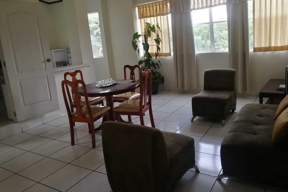 Családi apartman - Nappali