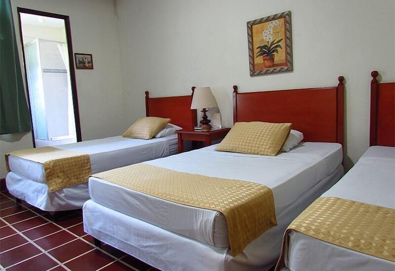 Hotel Villa Serena Flor Blanca, San Salvador, Standard Single Room, Guest Room