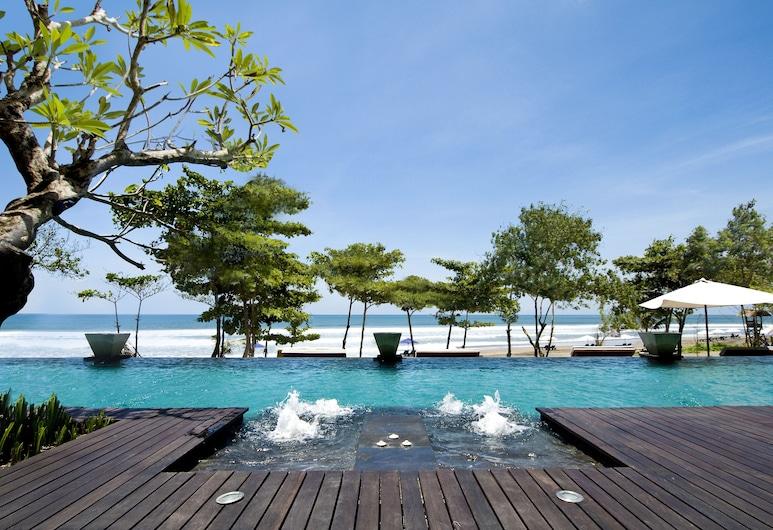 Anantara Seminyak Bali Resort, Seminyak, Piscina a sfioro