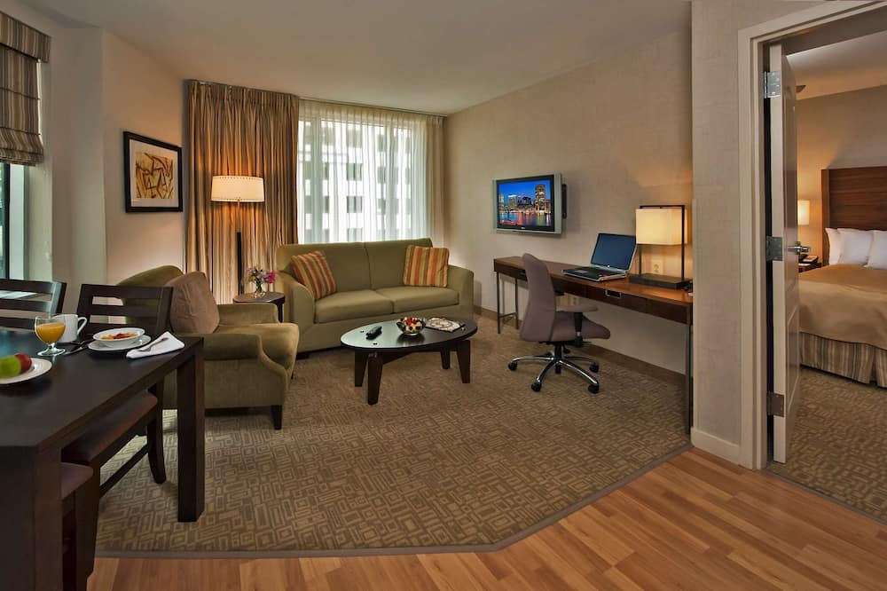 Suite, 1 Bedroom (1 Kingbed , 1 Sofabed) - Living Area
