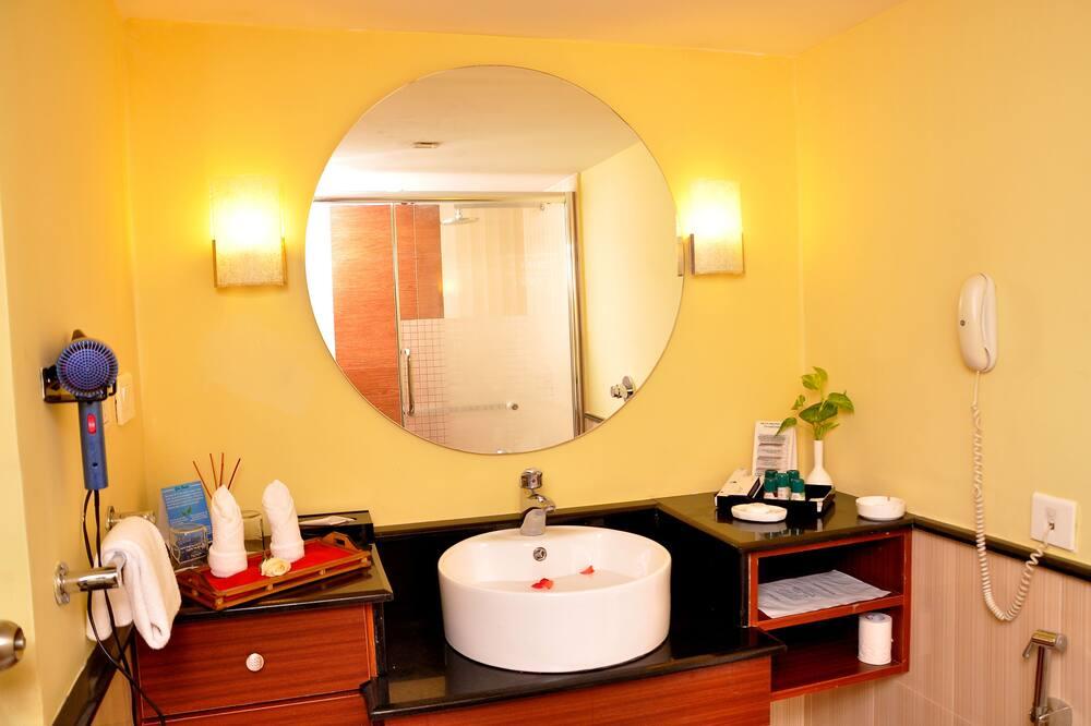 Suite - Faciliteter på badeværelset