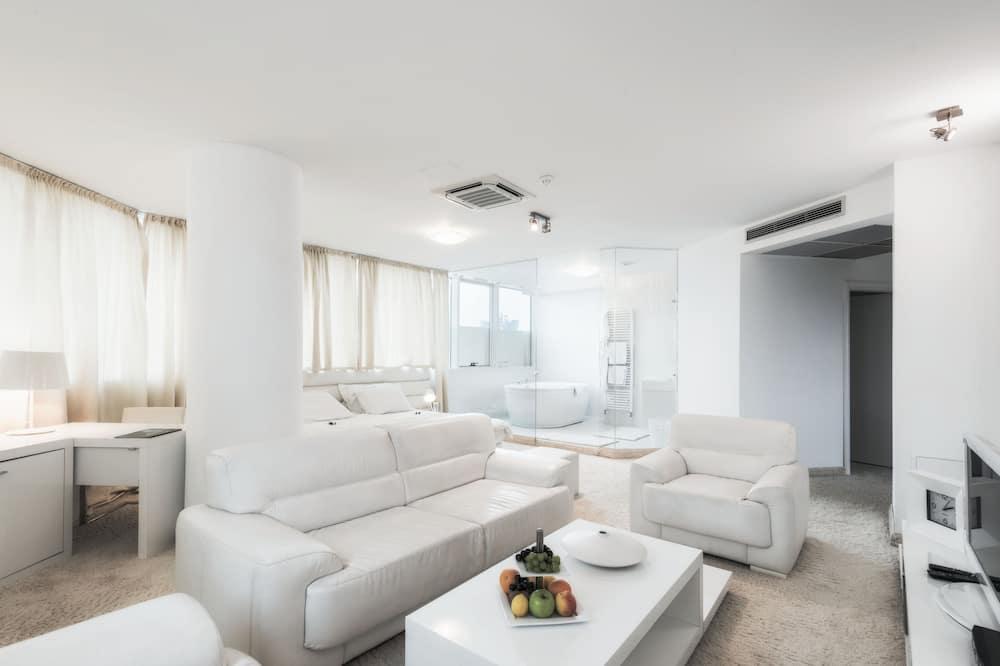 Honeymoon Apartment- Single use - אזור מגורים
