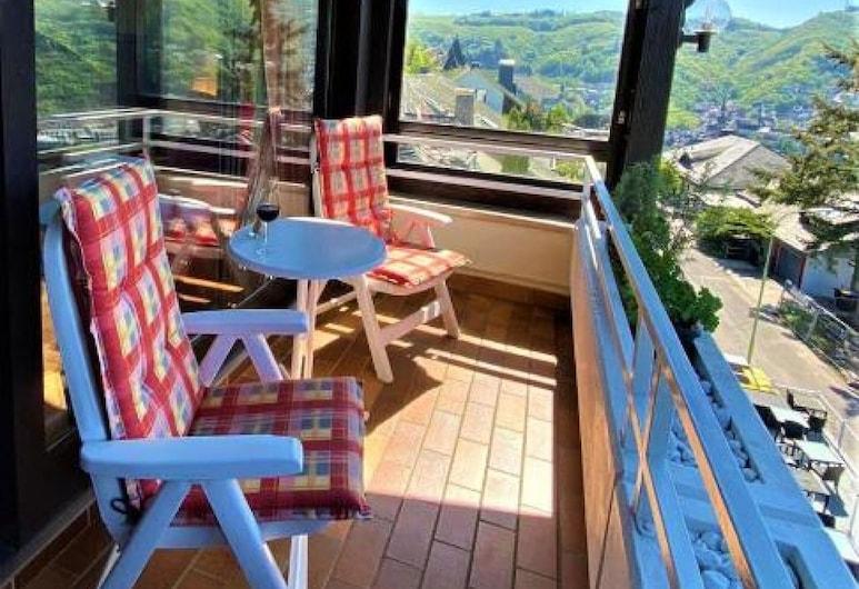 Moselromantik Hotel Thul, Cochem, Habitación Deluxe doble, vistas al río, Terraza o patio