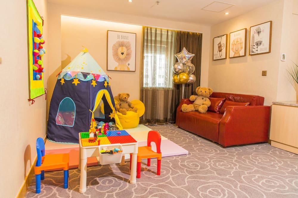 Monolocale familiare - Camera a tema per bambini