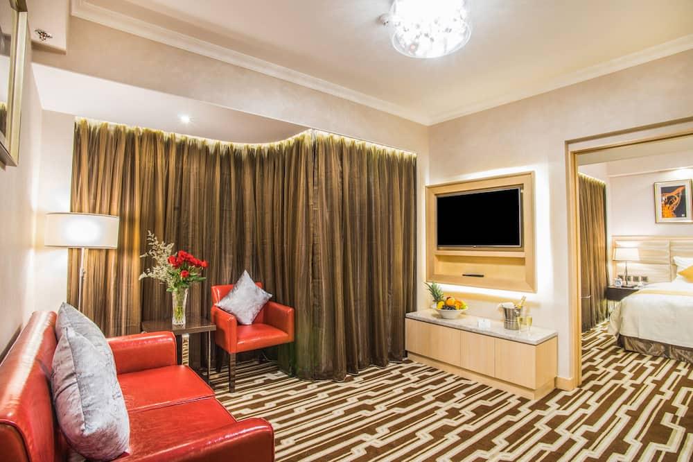 Camera familiare - Area soggiorno