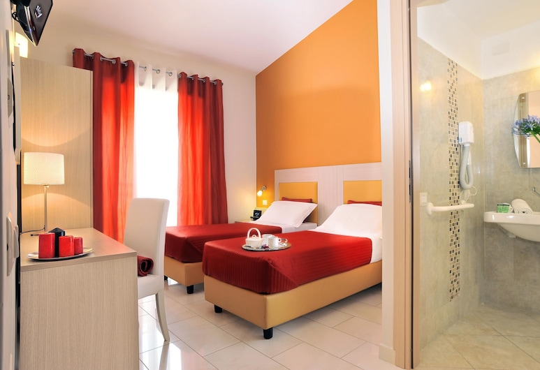 Hotel Scott House Rome, Rome, Standard Double or Twin Room, Guest Room