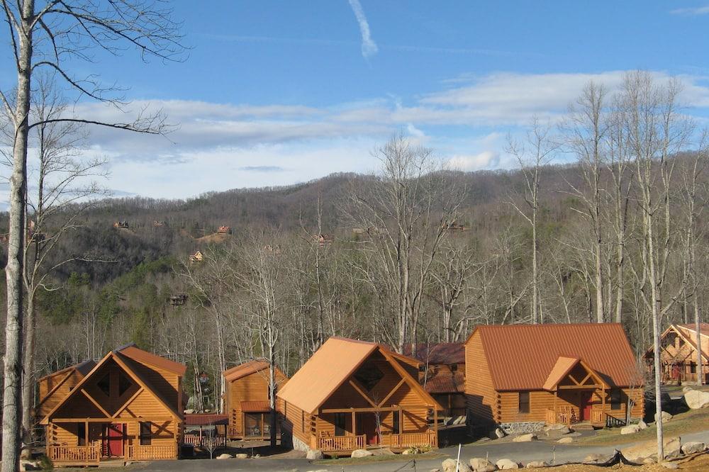 Будиночок «Делюкс», 2 спальні, ванна з гідромасажем, з видом на гори - Вибране зображення