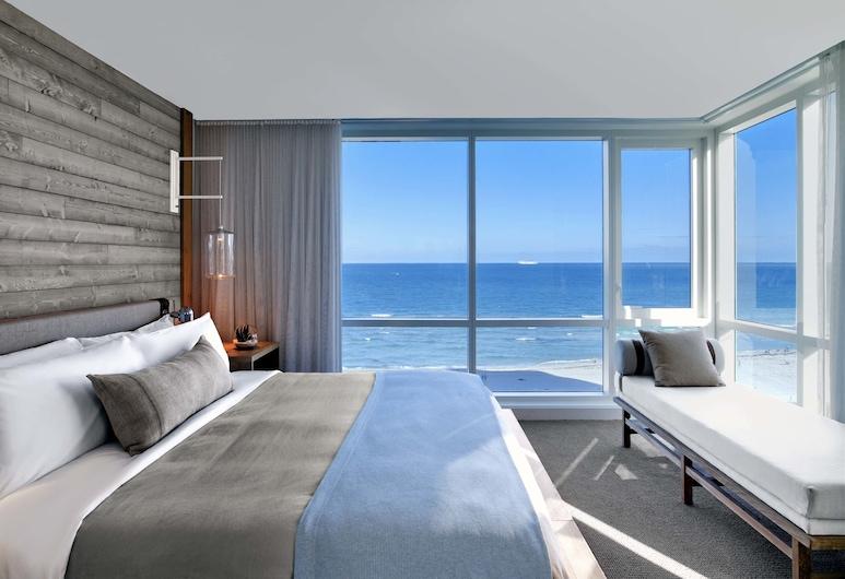 1 Hotel South Beach, Маямі-Біч, Номер-люкс, 2 спальні, з балконом, на узбережжі океану, Номер
