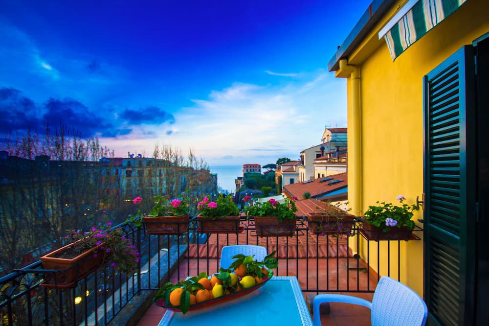 Comfort-dobbeltværelse - balkon - Terrasse/patio