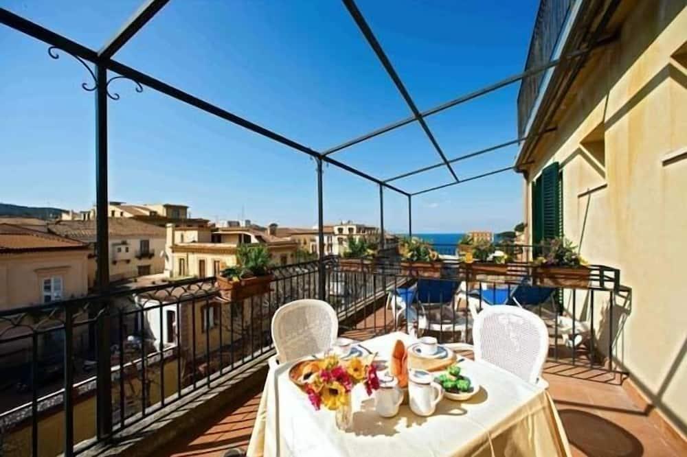 Comfort-dobbeltværelse - balkon - Altan