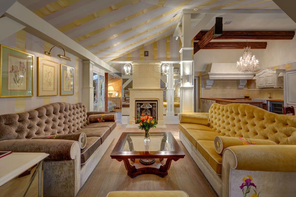 דירת יוקרה - סלון