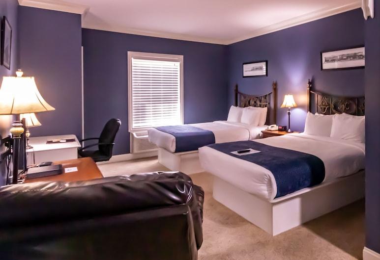 Depot Inn and Suites, La Plata, Kamar Double Khas, 2 Tempat Tidur Queen, lemari es & microwave, lantai dasar, Kamar Tamu