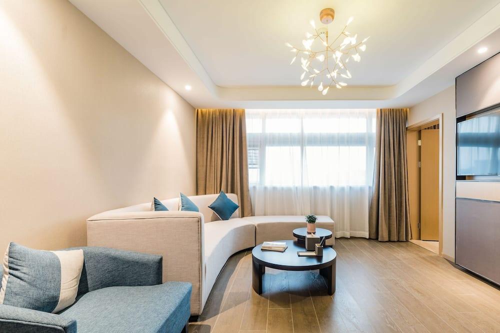 Habitación familiar con 2 camas individuales - Sala de estar