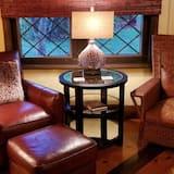 Romantic puhkemaja, 1 ülilai voodi, omaette vannitoaga, vaade kõrgendikule - Lõõgastumisala
