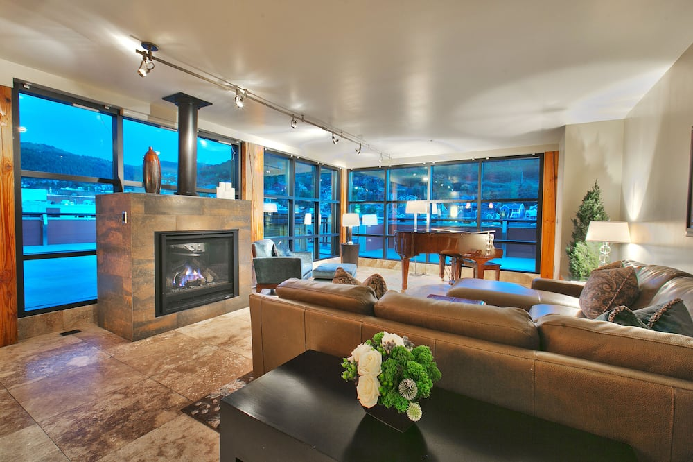 The Penthouse  - Living Room