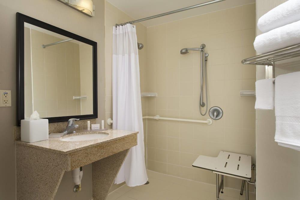 Studio, 2 grands lits, non-fumeurs - Salle de bain