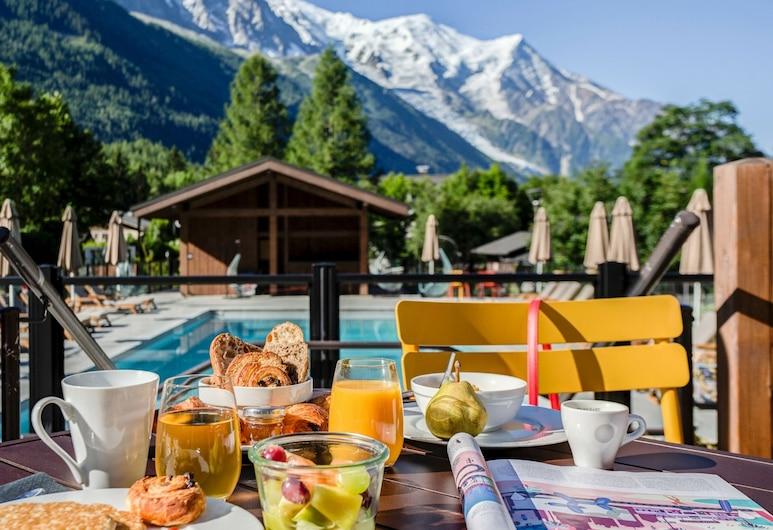 Best Western Plus Excelsior Chamonix Hotel & Spa, Chamonix-Mont-Blanc, Outdoor Dining