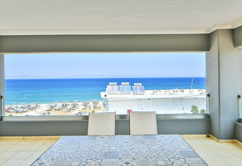Dodeca Sea Resort - All Inclusive, Rodos, Suite – deluxe, Balkongutsikt