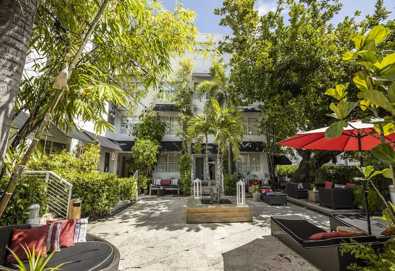 Metropole Suites South Beach, a South Beach Group Hotel, Miami Beach, Innenhof