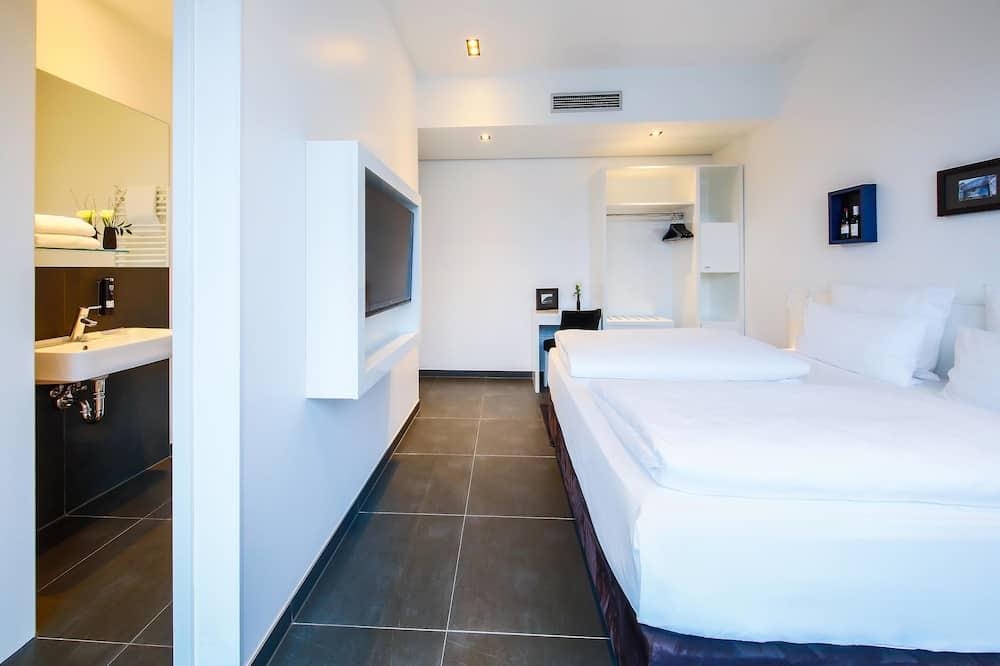 Habitación doble Deluxe de uso individual (Urban Roof Single) - Sala de estar