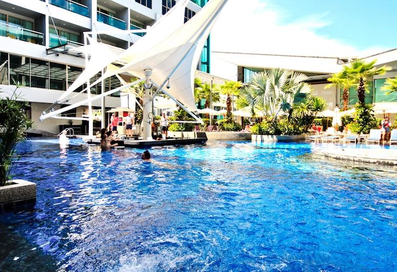 The Kee Resort & Spa, Patong, Kolam Renang Luar Ruangan