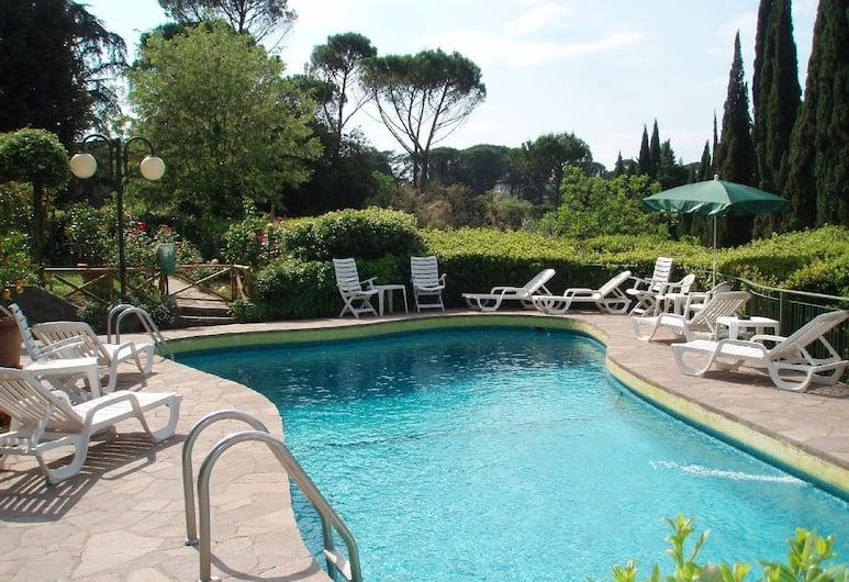 Villa Belvedere, Florencie, Venkovní bazén