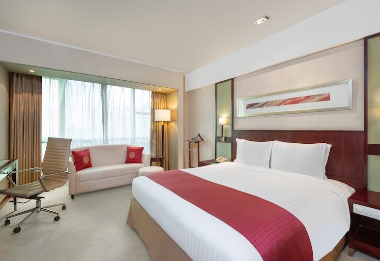 上海浦東麗晟假日酒店, 上海市, 高級客房, 1 張特大雙人床, 非吸煙房, 客房