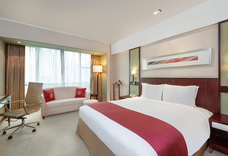 Holiday Inn Shanghai Pudong Nanpu, Shanghai, Superior-rum - 1 kingsize-säng - icke-rökare, Gästrum