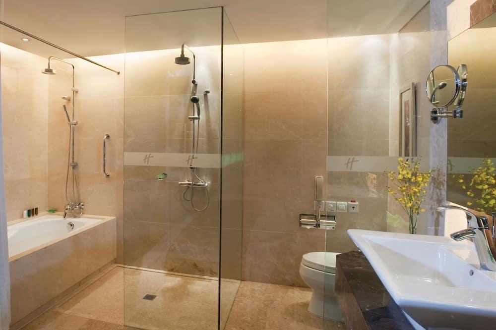 行政套房, 1 張特大雙人床, 非吸煙房 - 浴室