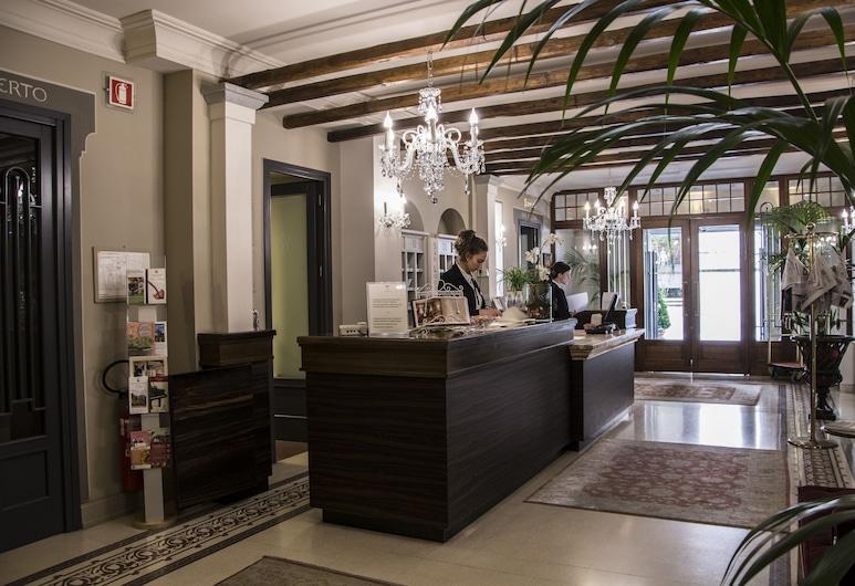 San Luca Palace Hotel, Lucca, Receção
