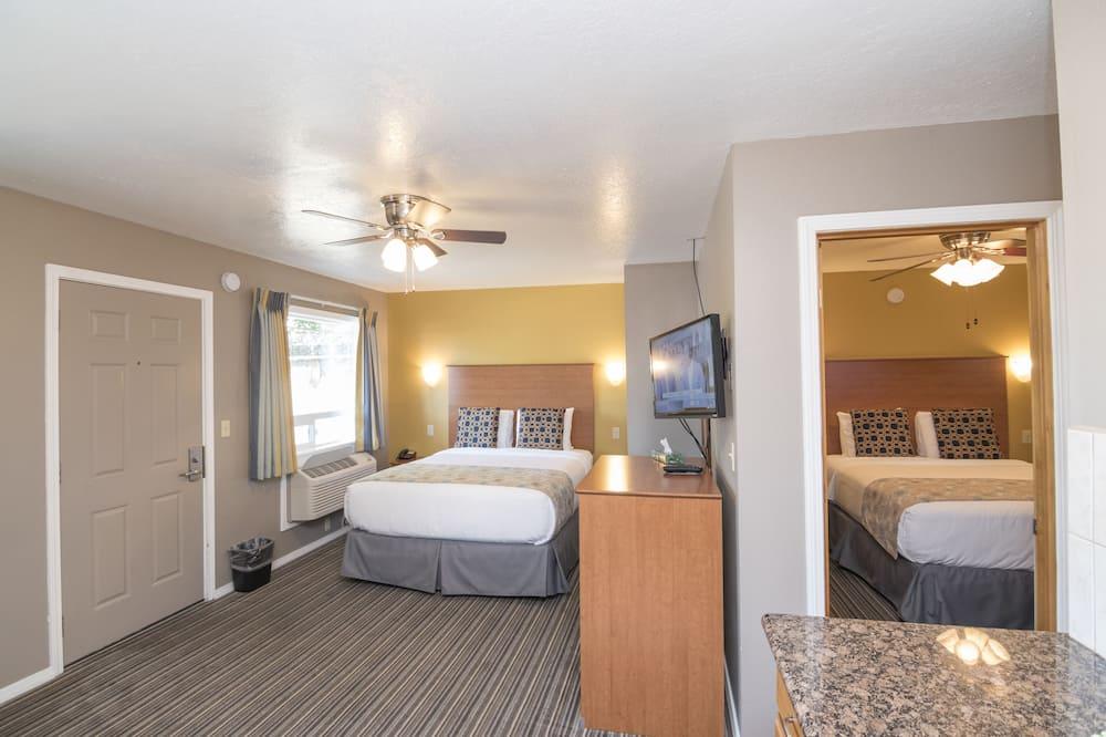 Suite, 2 queensize bedden, niet-roken - Kamer