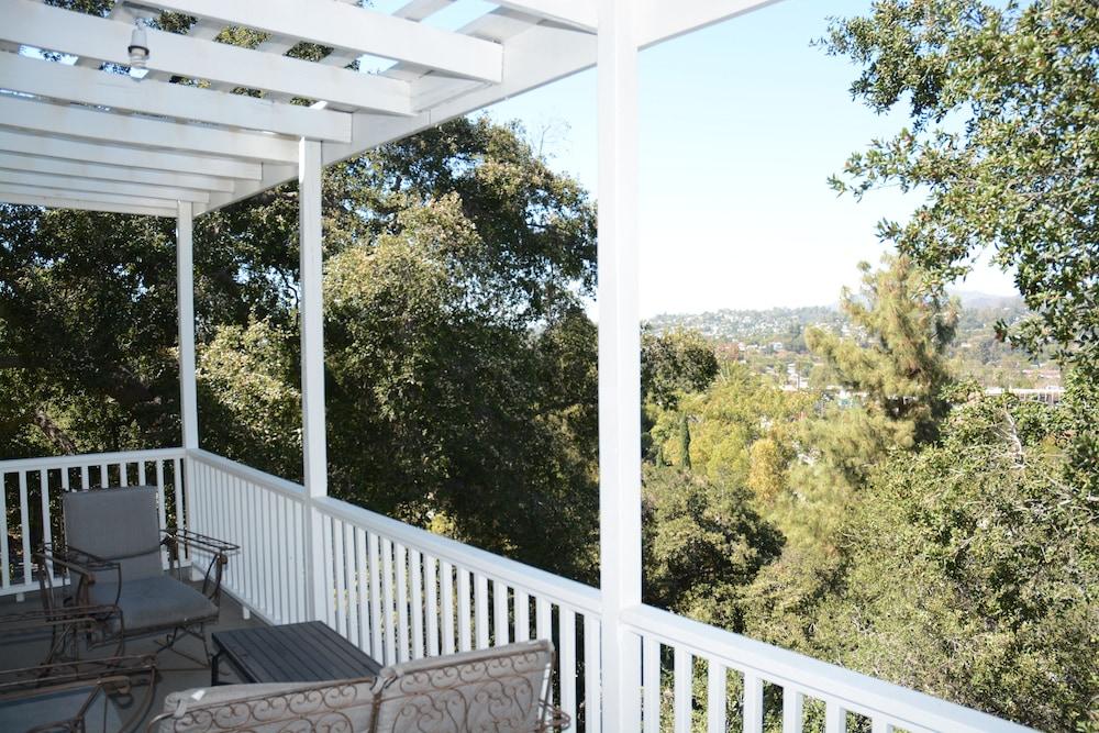 Arroyo Vista Inn South Pasadena Veranda Room Queen Bed Balcony