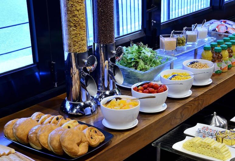 큐 그린 호텔 완차이 HK, Hong Kong, 아침 식사 공간