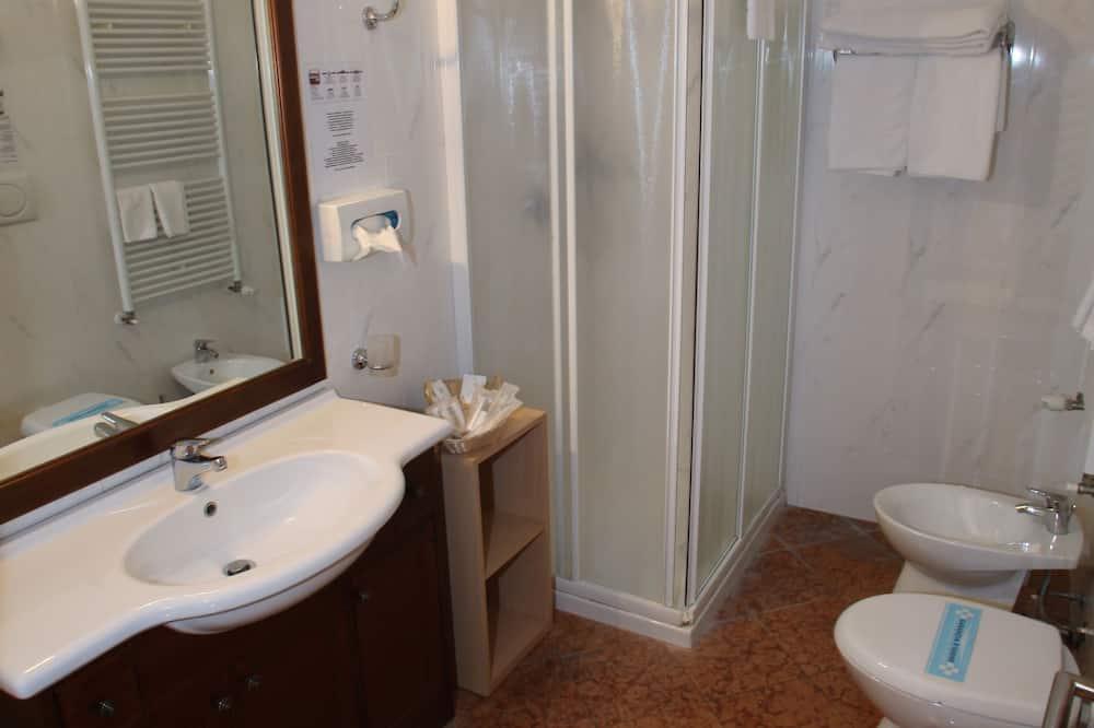 Jednokrevetna soba, 1 spavaća soba - Kupaonica