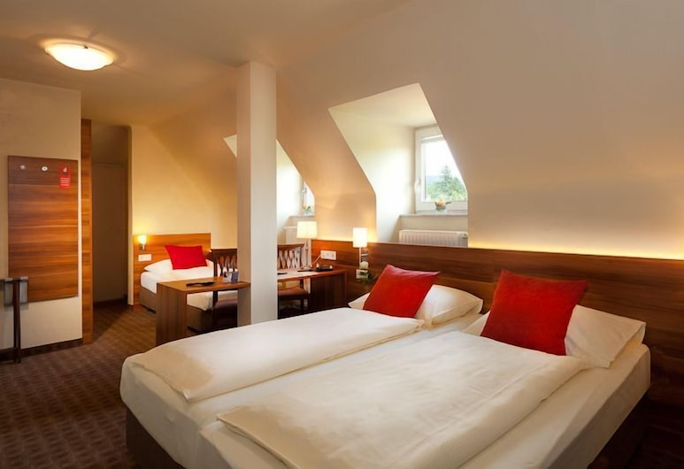 Astoria Salzburg, Salzbourg, Chambre Triple, Chambre