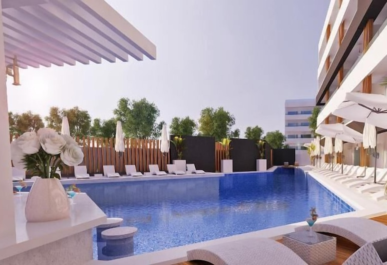 Castellum Suites - All Inclusive, Rodosz, Medence