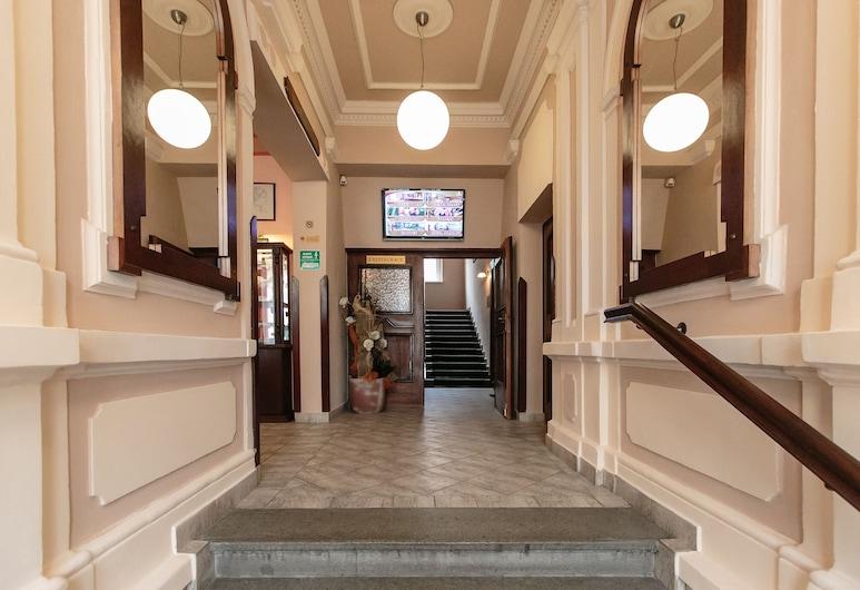 ホテル ビクトリア, プルゼニ, フロント