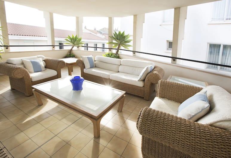 Cannes Croisette Prestige, Cannes, Premium-huoneisto, 2 makuuhuonetta (duplex 95m2), Terassi/patio