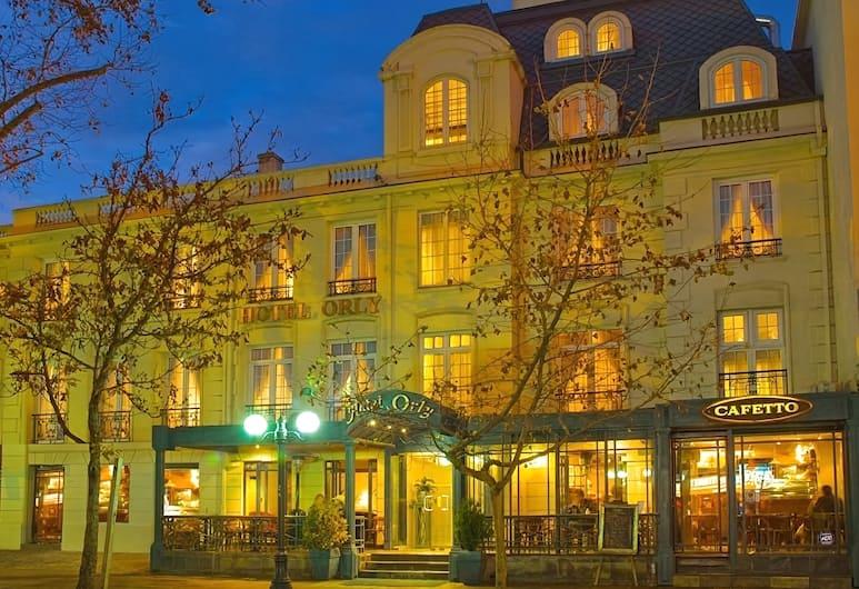 Hotel Orly, Santiago, Hotel homlokzata - este/éjszaka
