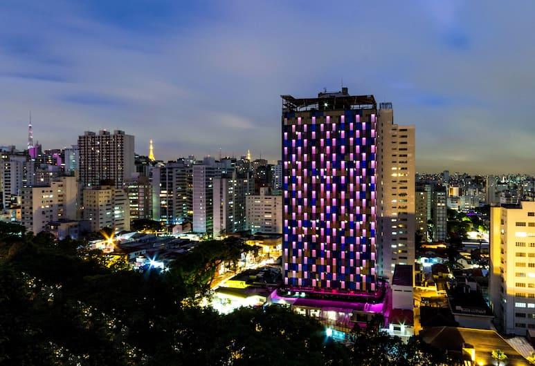 WZ Hotel Jardins, São Paulo, Blick vom Hotel