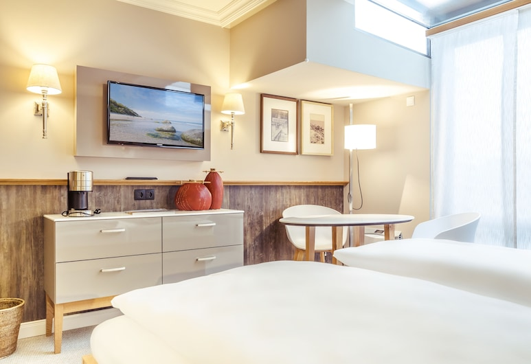 Hotel meerSinn, Binz, Classic Tek Büyük Yataklı Oda, Oda
